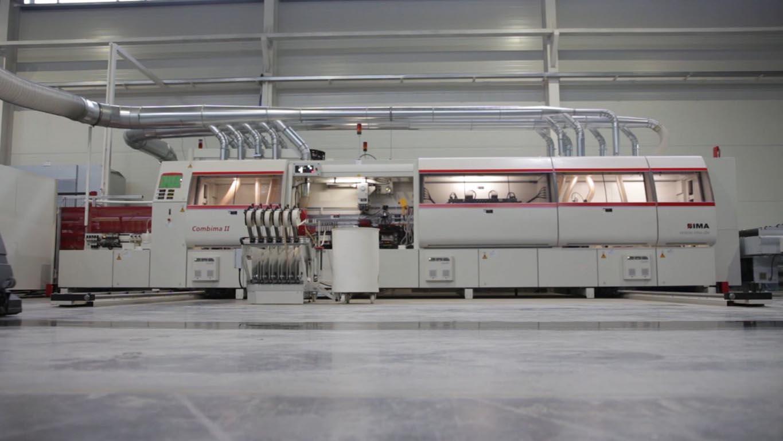 Фабрика SV-Мебель. Немецкие станки