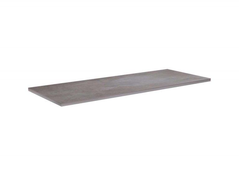 Детская Грей Полка для кровати двухъярусной Цемент светлый SV-Мебель
