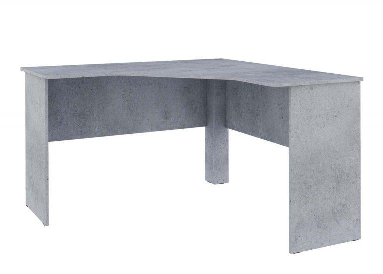 Детская Грей Стол письменный угловой Цемент светлый SV-Мебель