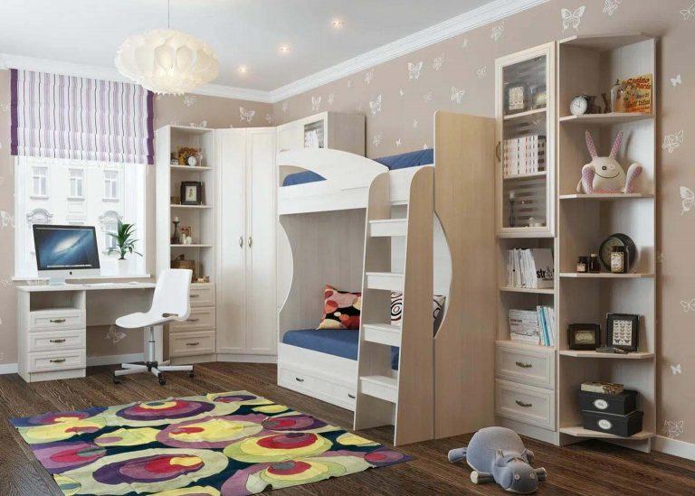 Детская Вега Сосна Карелия SV-Мебель