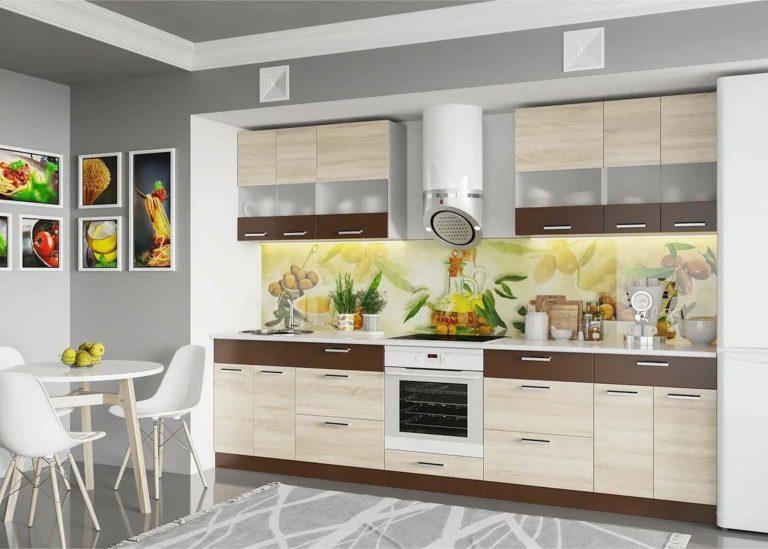 Кухня Арабика Дуб Сонома SV-Мебель