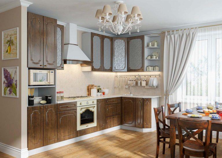 Кухня Классика Дуб Антик SV-Мебель