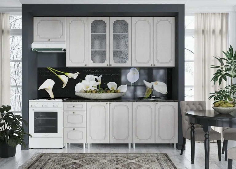Кухня Классика Сосна белая SV-Мебель