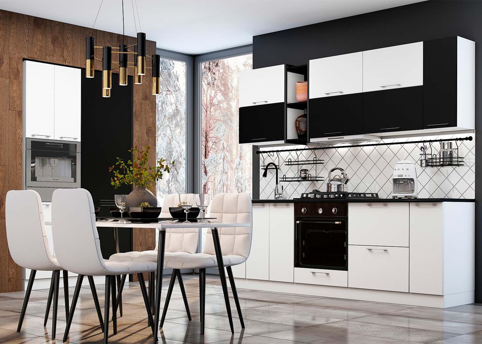 Кухня Модерн NEW Бланж Квазар SV-Мебель