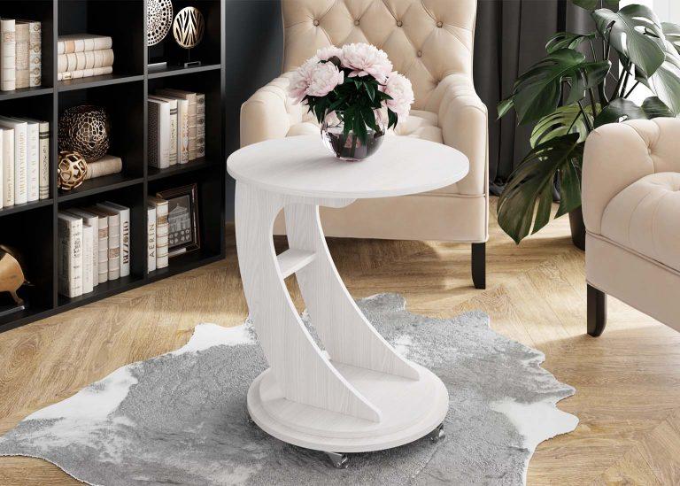 Журнальный стол №9 Ясень Анкор светлый SV-Мебель