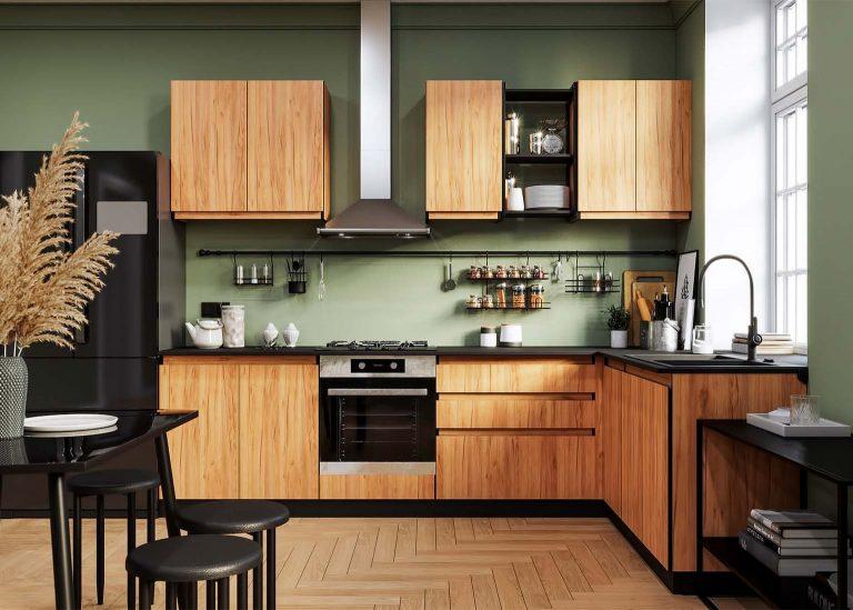 Кухня Соната Дуб Золотой SV-мебель