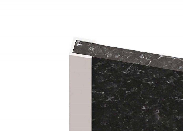 Планка для стеновой панели торцевая П 600 мм
