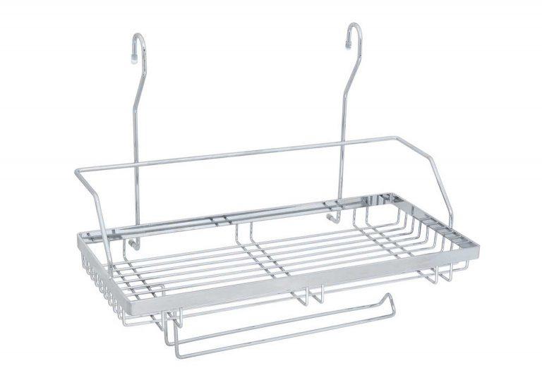 Полка одинарная с держателем для полотенца CWJ220-2 ALBA SV-мебель