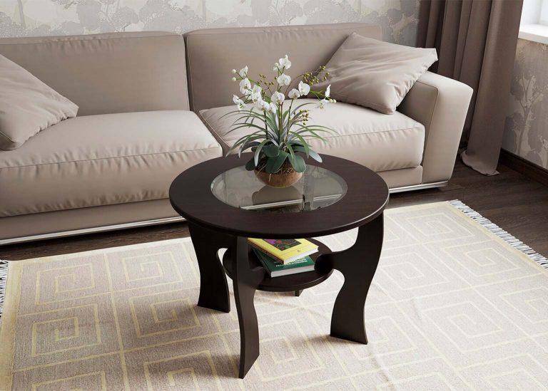 Стол журнальный №5 Дуб Венге SV-Мебель