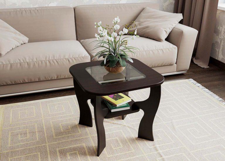 Стол журнальный №6 Дуб Венге SV-Мебель