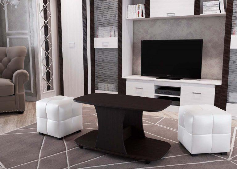 Стол журнальный №8 Дуб Венге SV-Мебель