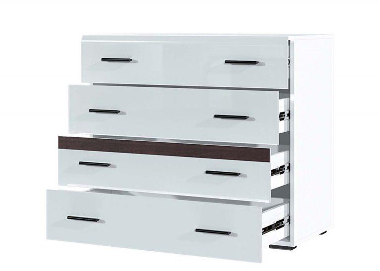 Модульная система Соло Комод 4 ящика открытый SV-Мебель