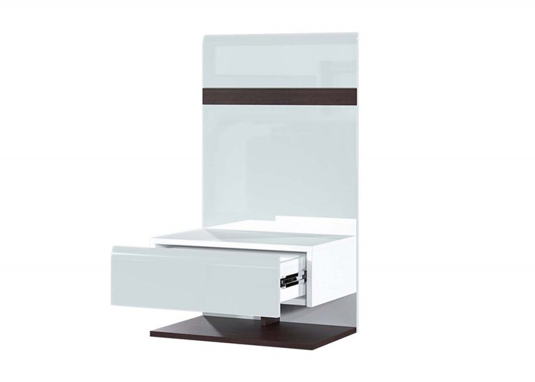 Модульная система Соло Тумба прикроватная открытая со щитом SV-Мебель