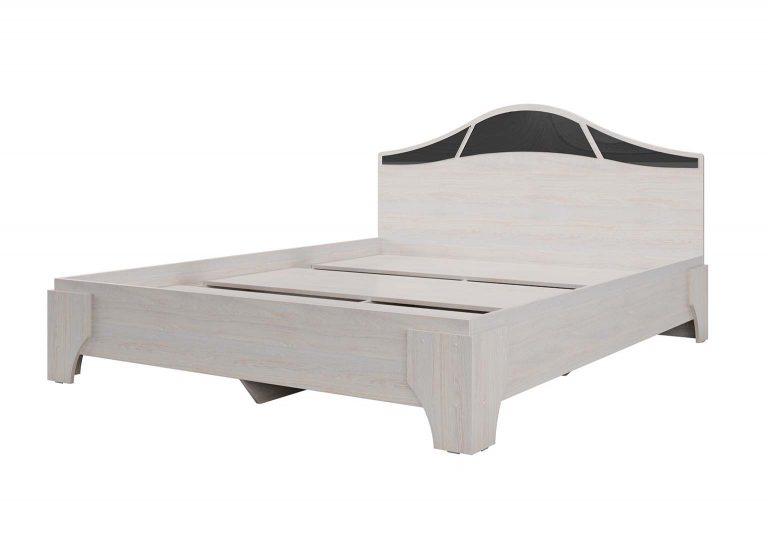 Спальня Лагуна 5 Кровать Ясень Анкор светлый SV-Мебель