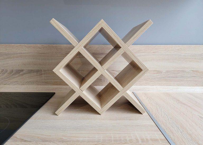 Винная подставка Дуб Сонома SV-Мебель